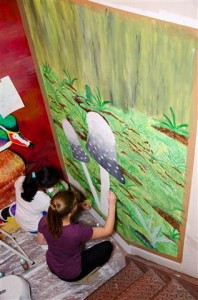 Mural Painting at the 2014 Competition